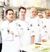 נבחרת השפים הישראלים לאפייה לקראת תחרות אליפות אירופה