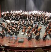 מיסה די גלוריה עם הסימפונית ראשון לציון ומקהלות וגם מנדלסון