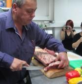 יענקל'ה שיין אצל מאיר השמן בסדנה שכולה בשר