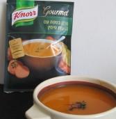 מרק בטטה עם נגיעות טימין של קנור