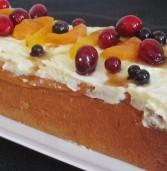עוגת גבינה במעטפת שמרים