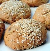 עוגיות שיבולת שועל וטחינה