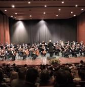 """קונצרט """"הנודד"""" עם שוברט והסימפונית ראשון לציון."""