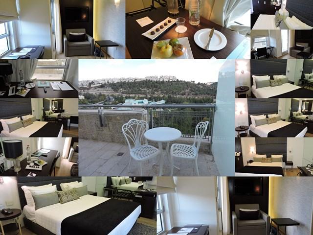 חדר במלון יהודה ירושלים