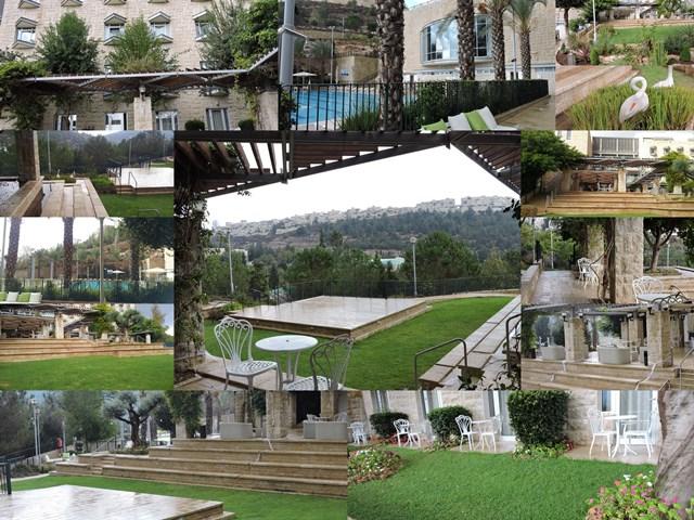 מלון יהודה חצרות ונוף