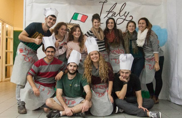 שינשינים בערב האיטלקי  קרדיט צלם עדי קמין