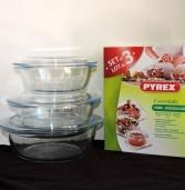 פיירקס (PYREX ) זו לא רק מתנה לפסח זה כלי בישול מוביל