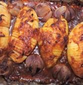 תפוחי אדמה ברוטב בצל