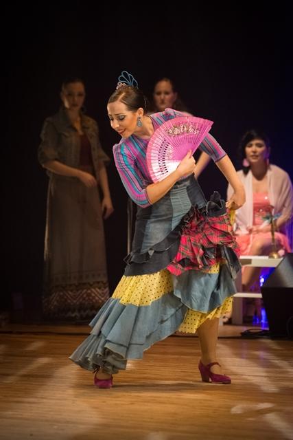 להקת הפלמנקו הישראלית במופע אגווה דולסה צילום רונן רוזנבלט