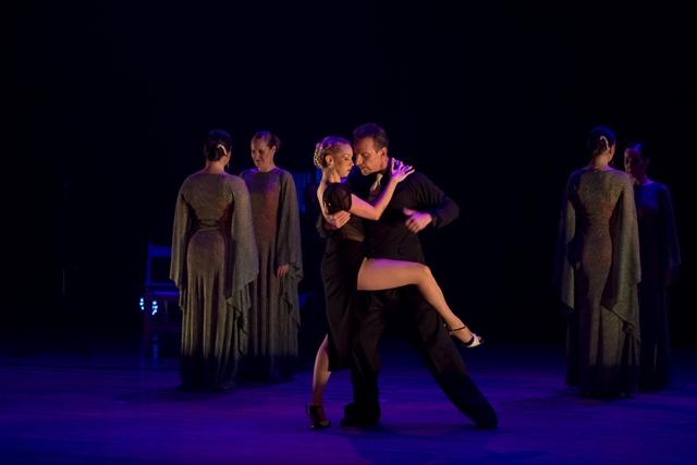 להקת קומפאס הישראלית במופע אגווה דולסה צילום רונן רוזנבלט