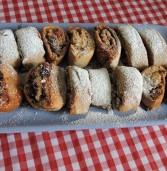 עוגיות שטורדל ממולא של פעם