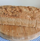 לחם כוסמין עם זיתים