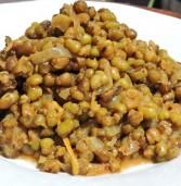 תבשיל שעועית מש בסגנון הודי