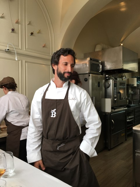 Avillez 15 – Chef Jose Avillez in the kitchen at Belcanto, the first restaurant in Lisbon to hold 2 Michelin stars.