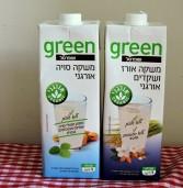 משקאות חלב סויה שקדים אורז ועוד..  GREEN