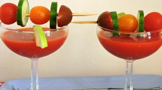 """""""פרימור"""" משיקה מיקס ירקות קר בסגנון ספרדי: גספצ'ו"""