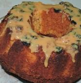 עוגת קוגלהוף תפוזים בציפוי ריבת חלב