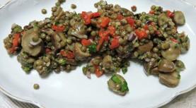 סלט עדשים שחורות וחגיגה בשופרסל