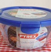COOK & GO – סדרת כלי איחסון חדשה מזכוכית של פיירקס (PYREX)