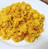 כרוב בסגנון הודי – באג'י