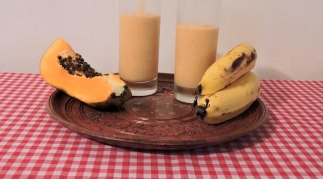 לאסי פפאיה ובננה