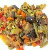 תבשיל ירקות סיצילאני בסגנון קפונטה