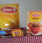 חדש מאסם – ערגליות פטל וקרמוגיות שוקו במילוי קרם אגוזים