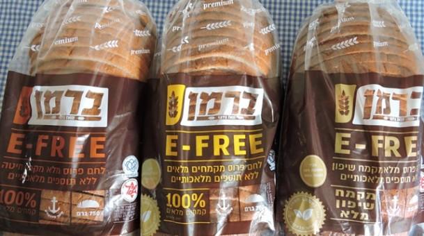 ברמן E-FREE סדרת לחמי מחמצת חדשה ללא חומרים
