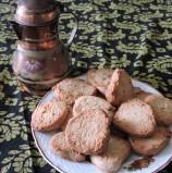 עוגיות אגוזי מלך  פריכות לקפה