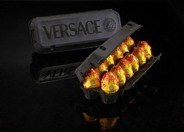 ביצים של ורסצ'ה מתוך התערוכה חיטה היא חיטה היא חיטה תערוכת יחיד של פדי מרגי. צילום עמ_