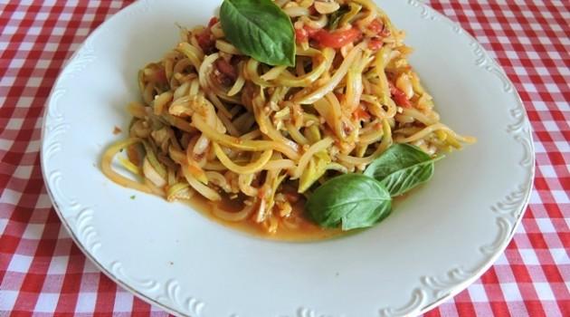 ספגטי קישואים