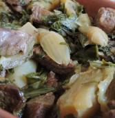 בשר שריר, בטטה קסבייה, שומר ומנגולד – תבשיל קדרה חורפי