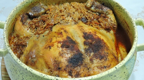 טבית חמין עוף ואורז עיראקי