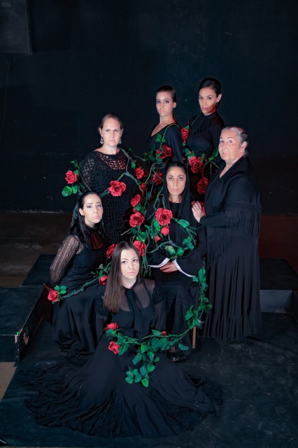 להקת הפלמנקו הישראלית ALBA צילום דורון ישינסקי5