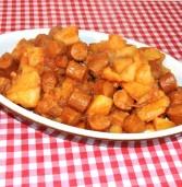 גולש נקניקיות ותפוחי אדמה
