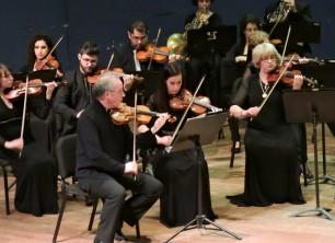 הקונצ'רטו לכינור של בטהובן עם התזמורת הקאמרית הישראלית