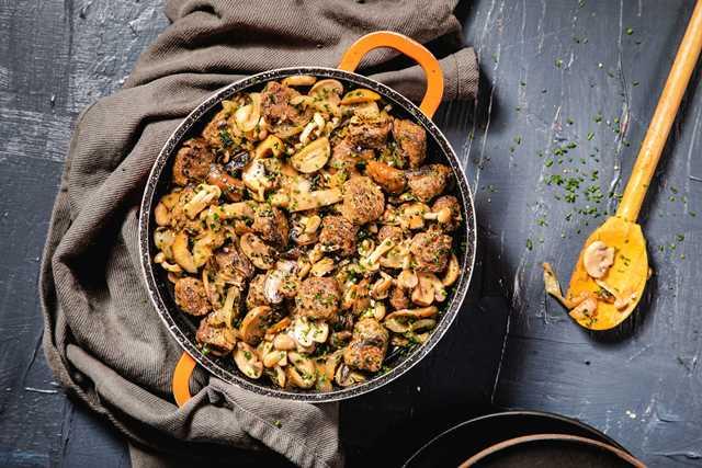 תבשיל נתחי בקר ופטריות צילום שרית גופן סטיילינג אינה גוטמן5