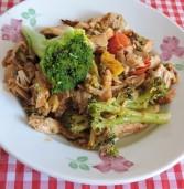 תבשיל עוף צלוי עם ברוקולי  של בריאות