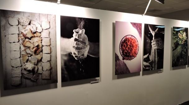 אירוע תערוכת Colorfood נעמן גרופ עם הצלם דן לב