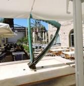 כינור בכיכר המסעדה הירושלמית הכשרה מפתיעה