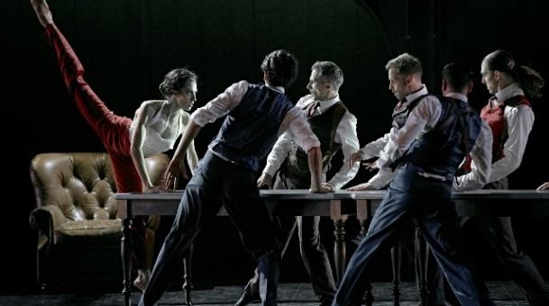 """ונדנטה סיפורי מאפיה הבלט הקנדי הגדול ממונטריאול""""מחול במשכן"""" בבית האופרה הישראלית"""
