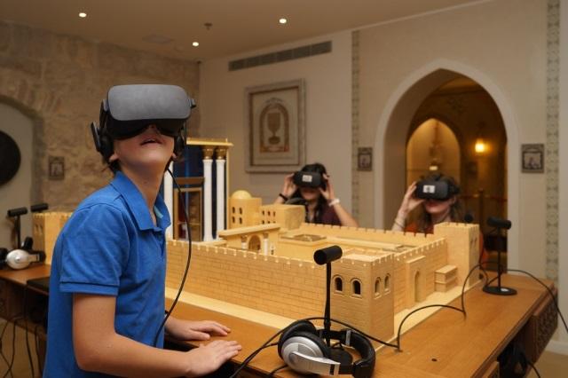 משקפי מציאות מדומה המוסיקה צילום איתי נדב