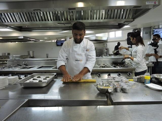 Sous Chef Raj Ranghar