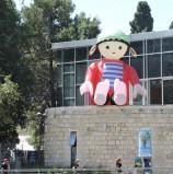 פליימוביל במרכז פעילויות הילדים בחופשה  – הגן הבוטני ירושלים