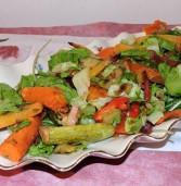 סלט בלקני מירקות קלויים