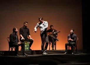 חוסה פורסל במופע סולו פלמנקו בסוזן דלל