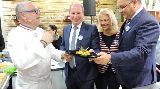 סדנת אומן של השף הצרפתי Joseph Viola – So French So Food  שבוע הקולינריה הצרפתית