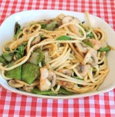 פסטה פסטו קארי ירקות