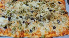 1,2,3 פיצה, עם בצק פיצה מרודד שמרית החיים יותר קלים