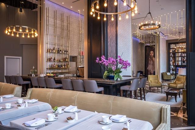 """מסעדת לג'נט במלון מגדל דוד, צילום: יח""""צ"""